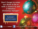 Christmas Hamper Draw @ Tunney Opticians